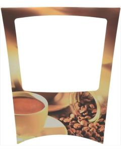 ADHESIVE PLATE CUP LOGO