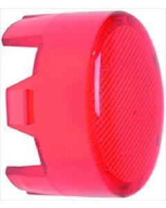 OSŁONA LAMPKI CZERWONA 15x11 mm