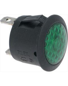 LAMPKA KONTROLKA ZIELONA 10A 125V