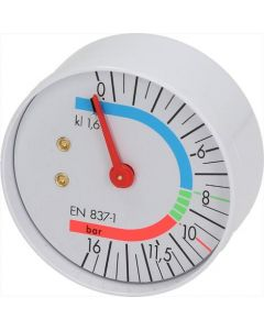 MANOMETR POMPY ø 57 mm 0÷16 bar