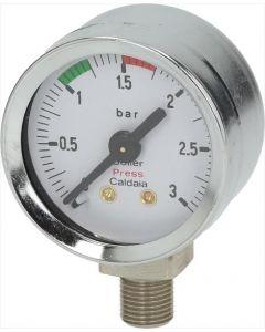 MANOMETR BOJLERA ø 42 mm 0÷3 bar