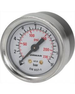 MANOMETR POMPY ø 41 mm 0÷16 bar
