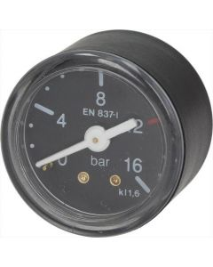 MANOMETR POMPY ø 42 mm 0÷16 bar