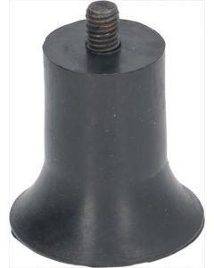NÓŻKA Z PRZYZSAWKĄ M8 ø 47x45 mm