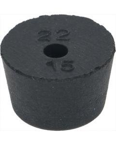 RUBBER FOOT ø 22x15 mm