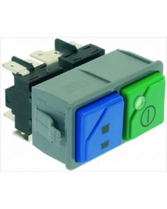 DOUBLE SWITCH 16A 250V