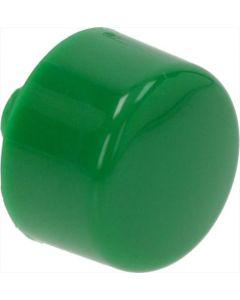 GREEN ROUND CAP ø 12 mm