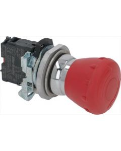 EMERGENCY PUSH-BUTTON 1-POLE RED 220V