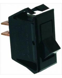 BIPOLAR PUSH-BUTTON BLACK 5/10A 250/125V