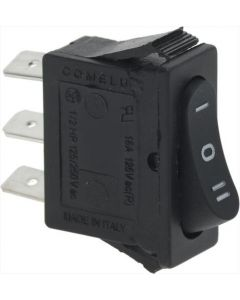 SELECTOR SWITCH STABLE 1-POLE BLACK