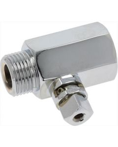 STEAM TAP CASING CHROME PLATED
