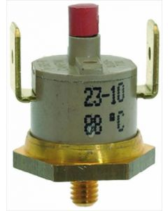 CONTACT THERMOSTAT 88°C M4 16A 250V