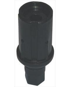 ADJUSTABLE PLASTIC FOOT ø 27 mm