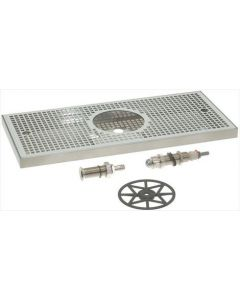 STAINLESS STEEL DRIP TRAY 500x220xh30 mm