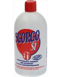 SGORGOSÌ CHEMICAL DRAIN CLEANER 1 L