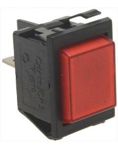 LAMPKA KONTROLKA CZERWONA 230V