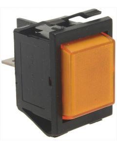 LAMPKA KONTROLKA POMARAŃCZOWA 220V