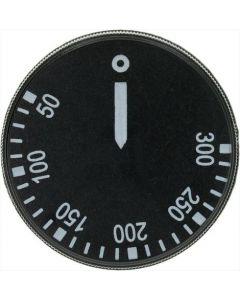 GAŁKA CZARNE ø 43 mm 50-300°C