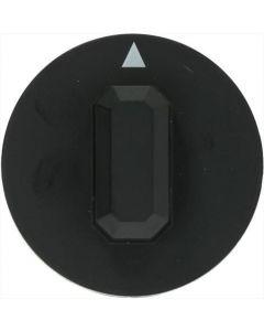 CZARNE GAŁKA ø 44 mm
