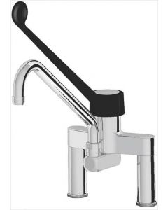TWO-HOLE SINGLE LEVER MIXER