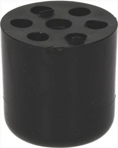 NÓŻKA GUMOWA  ø 25x25 mm otwór ø 5 mm