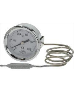 TELE-TERMOMETR BIAŁE ø 60 mm 0-500°C
