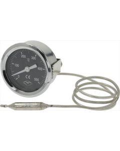 TELE-TERMOMETR CZARNE ø 60 mm 0-500°C