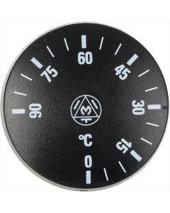 GAŁKA CZARNE ø 41 mm 0-90°C