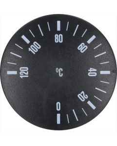 GAŁKA CZARNE ø 41 mm 0-120°C