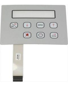 PLATE PRZYCISKI PANEL DIGIT 150x120 mm
