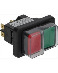 PUSH-BUTTON PANEL O-I GREEN-RED 16A 230V