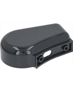 PUSH BUTTON PANEL BOX BLACK 140x100x40mm