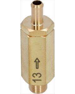 EXPANSION VALVE ø 1/4M-8 mm 13 bar