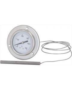TELETHERMOMETER WHITE ø 60 mm 0-500°C