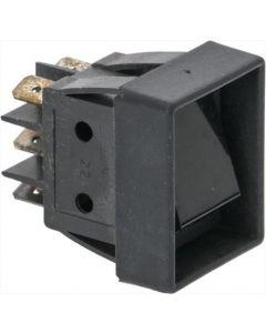 BLACK BIPOLAR SWITCH 16A 250V