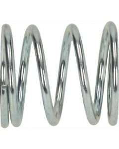 CONICAL SPRING FOR CARRIAGE