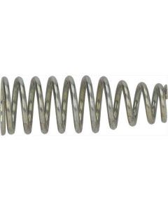 CONICAL SPRING FOR RUBBERPIECE