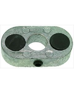 OVAL FLANGE WITH DOUBLE MAGNET