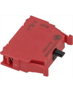 RED REPLACEMENT CONTACT BLOCK 16A 250V