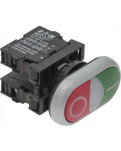PUSH-BUTTON PANEL O-I GREEN-RED 15A 500V